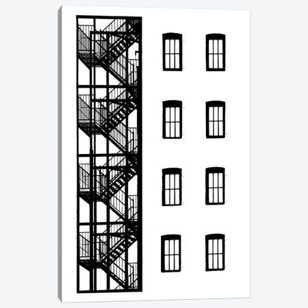NYC In Pure B&W VII Canvas Print #JPI7} by Jeff Pica Art Print