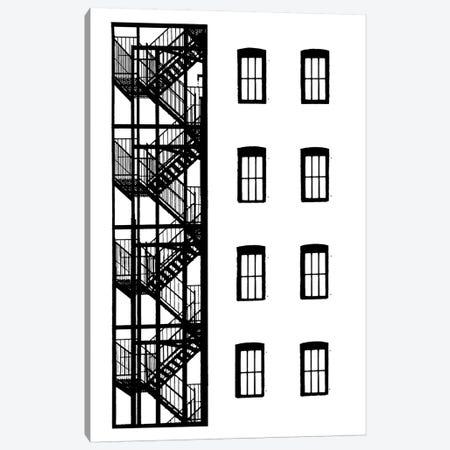 NYC In Pure B&W VII Canvas Print #JPI7} by Jeff Pica Art Print