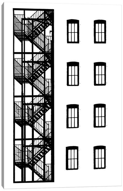 NYC In Pure B&W VII Canvas Art Print