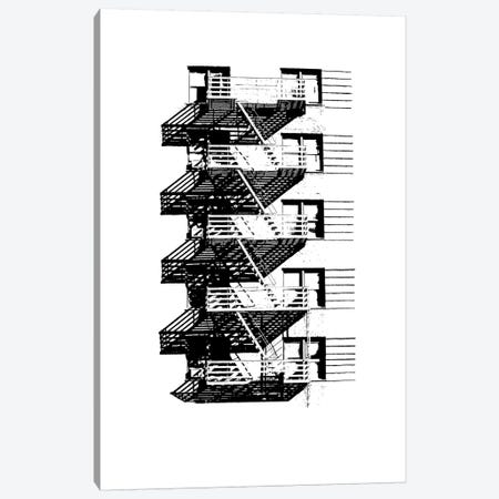 NYC In Pure B&W VIII Canvas Print #JPI8} by Jeff Pica Canvas Art
