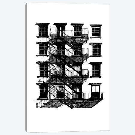 NYC In Pure B&W IX Canvas Print #JPI9} by Jeff Pica Canvas Art