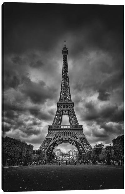 Eiffel Canvas Art Print