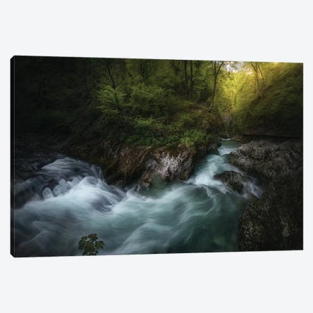 Gorge 1. Canvas Print #JPM12} by Juan Pablo de Miguel Canvas Art Print