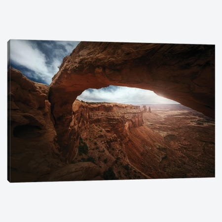 Mesa Arch 3-Piece Canvas #JPM16} by Juan Pablo de Miguel Canvas Art
