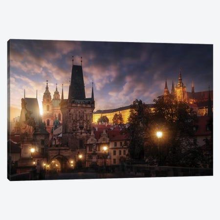Prague Sun. Canvas Print #JPM21} by Juan Pablo de Miguel Canvas Wall Art
