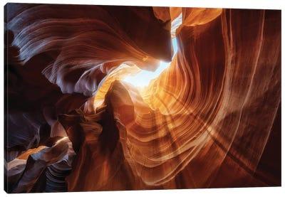 Antelope Hole. Canvas Art Print