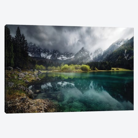 Azul Turquesa. Canvas Print #JPM29} by Juan Pablo de Miguel Canvas Wall Art