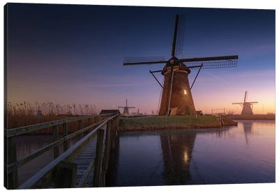Kinderdijk II Canvas Art Print