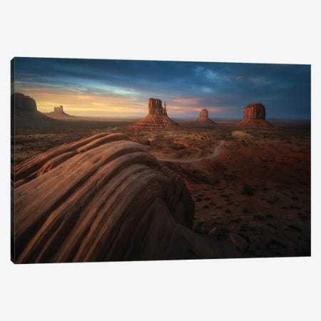 Monument Canvas Print #JPM32} by Juan Pablo de Miguel Art Print
