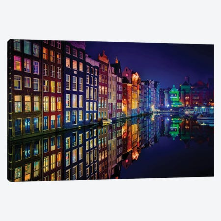 Amsterdam Canvas Print #JPM4} by Juan Pablo de Miguel Canvas Art Print