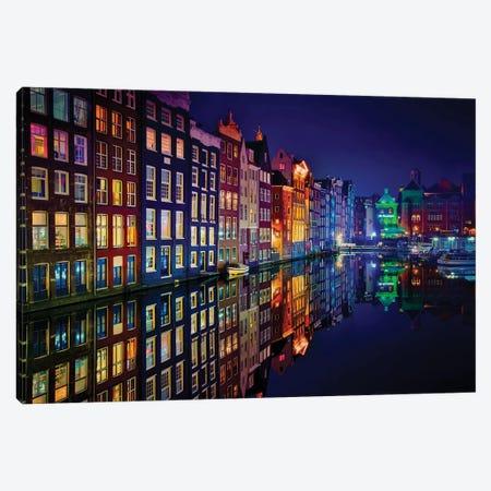 Amsterdam Canvas Print #JPM4} by Juan Pablo de Miguel Canvas Art Print