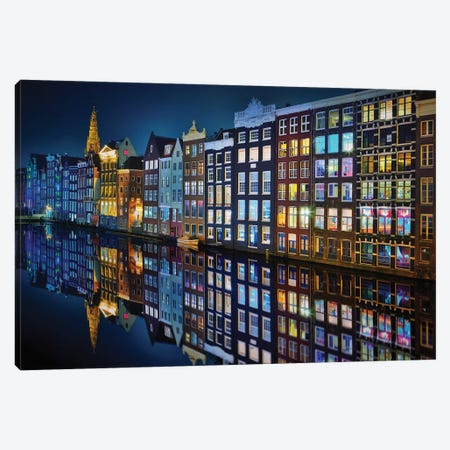 Amsterdam Mirror. Canvas Print #JPM5} by Juan Pablo de Miguel Canvas Art Print