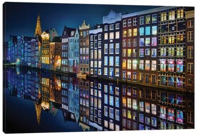 Amsterdam Mirror. Canvas Art Print