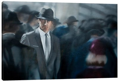A Man Apart Canvas Art Print