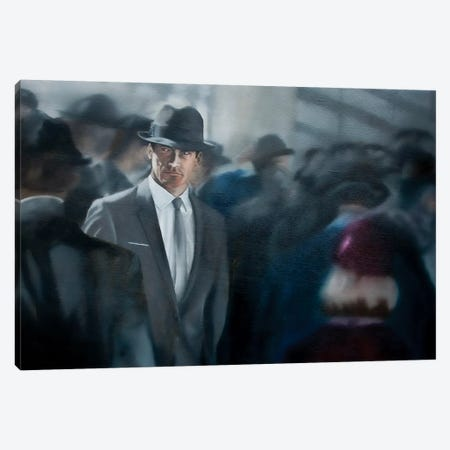 A Man Apart Canvas Print #JPO1} by Johnny Popkess Canvas Wall Art