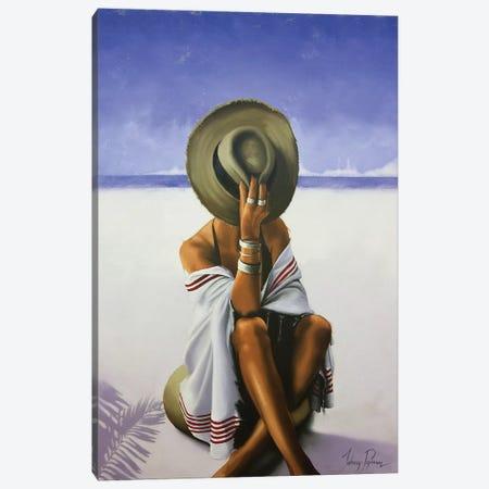 Hazy Shade Of Summer Canvas Print #JPO24} by Johnny Popkess Art Print