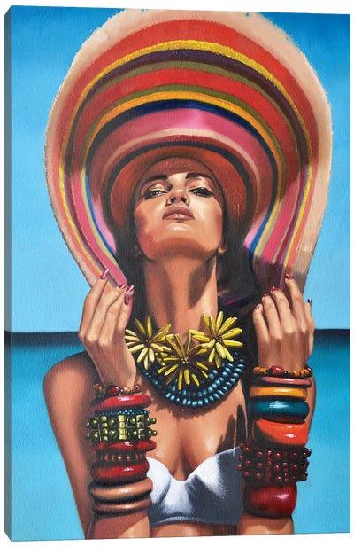 La Reine du Soleil Canvas Art Print