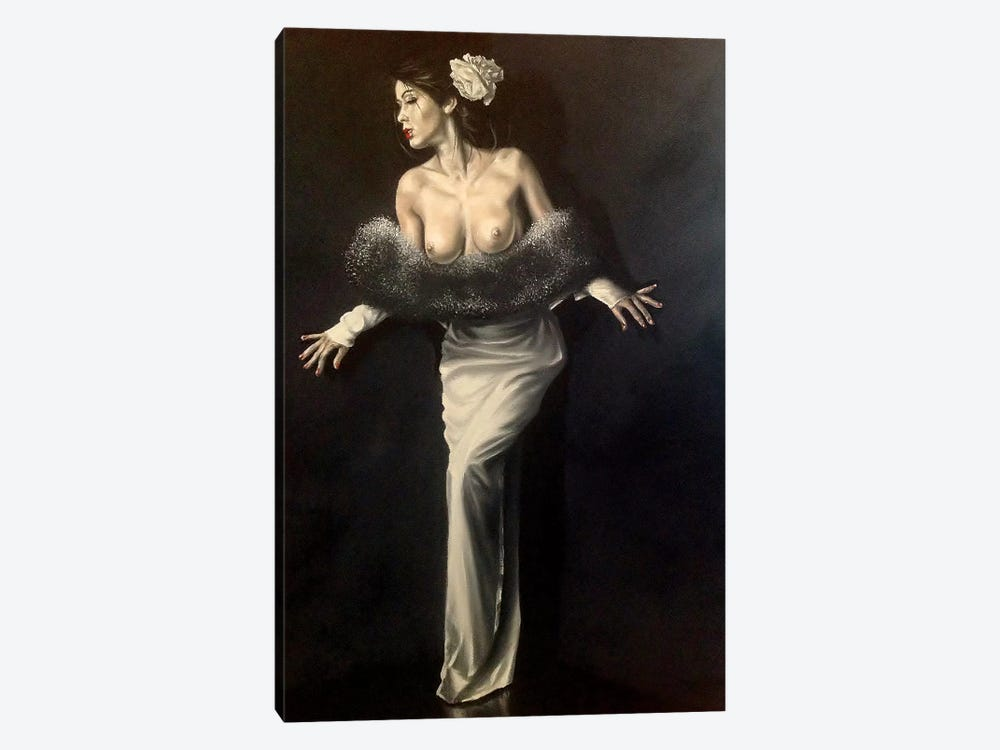 Lucia by Johnny Popkess 1-piece Art Print