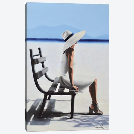 Maintaining A Graceful Repose Canvas Print #JPO30} by Johnny Popkess Canvas Art Print