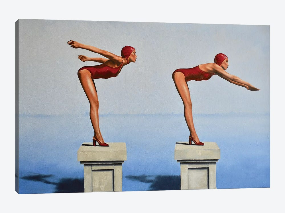 Preparation, Posture, And Poise by Johnny Popkess 1-piece Art Print