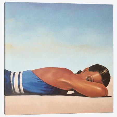 Sunbather Canvas Print #JPO45} by Johnny Popkess Canvas Art Print