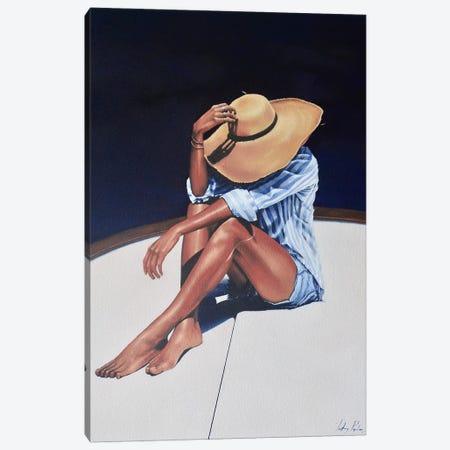 The Hardships Of Sailing Canvas Print #JPO53} by Johnny Popkess Art Print