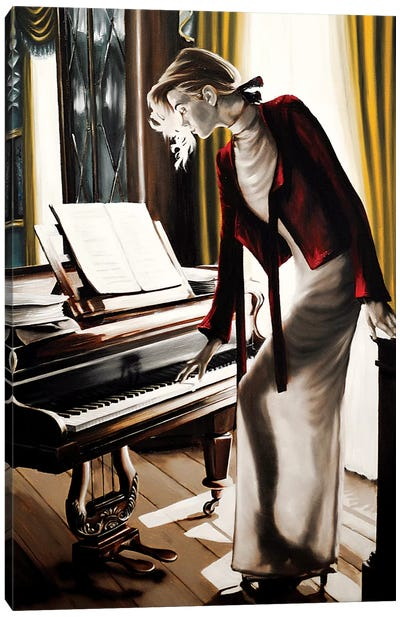 The Pianist Canvas Art Print