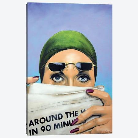 An Indiscreet Voyeur Canvas Print #JPO5} by Johnny Popkess Canvas Print