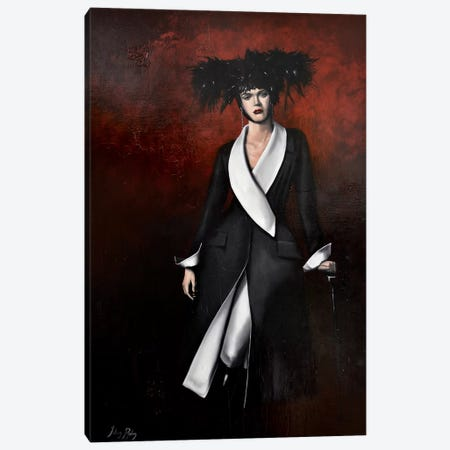 Vanity Canvas Print #JPO60} by Johnny Popkess Canvas Artwork