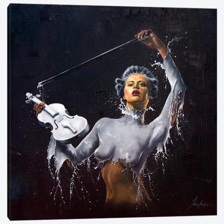 Violin Solo Canvas Print #JPO62} by Johnny Popkess Canvas Art