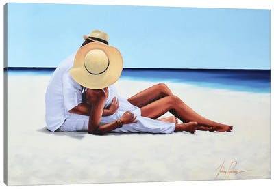 Holiday Romance Canvas Art Print
