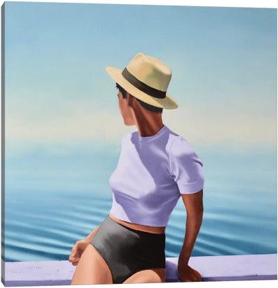 Summer Haze Canvas Art Print