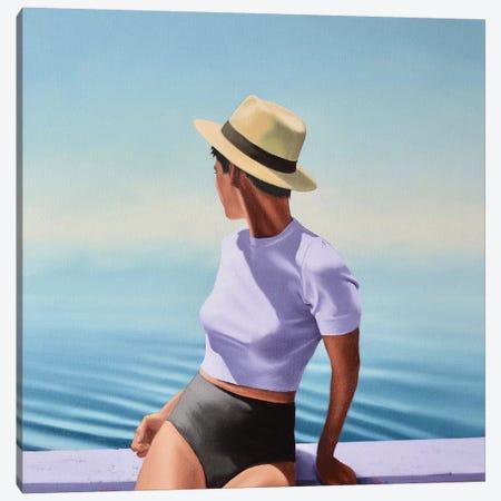 Summer Haze Canvas Print #JPO67} by Johnny Popkess Canvas Art Print