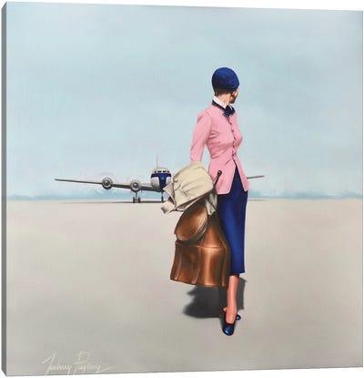 Arrivals Canvas Art Print