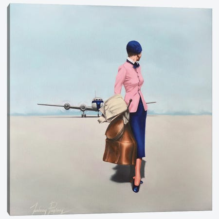 Arrivals Canvas Print #JPO71} by Johnny Popkess Canvas Print