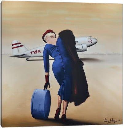 Departures Canvas Art Print