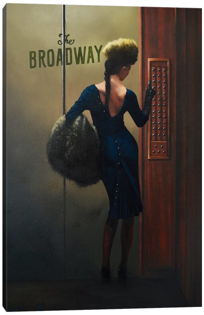 The Audition Canvas Art Print