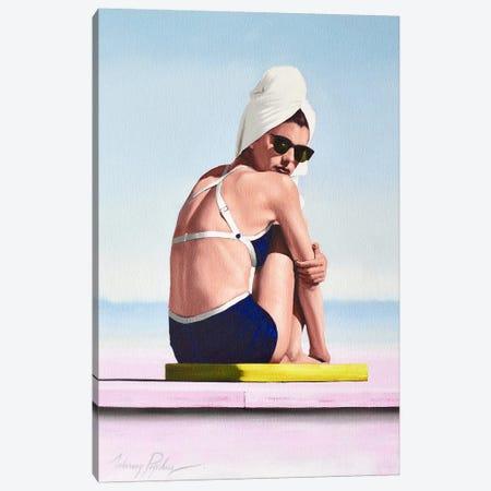 Drip Drying Canvas Print #JPO85} by Johnny Popkess Art Print