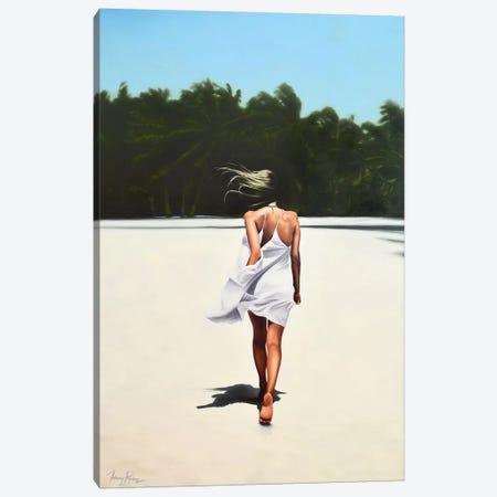 Island Life Canvas Print #JPO87} by Johnny Popkess Canvas Print