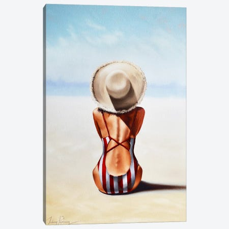 Last Day of Summer Canvas Print #JPO88} by Johnny Popkess Canvas Wall Art