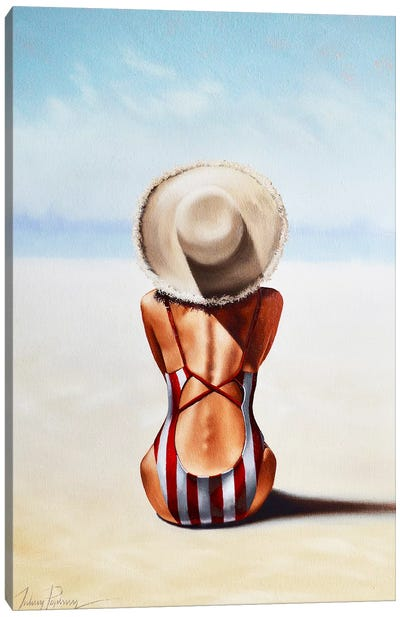 Last Day of Summer Canvas Art Print