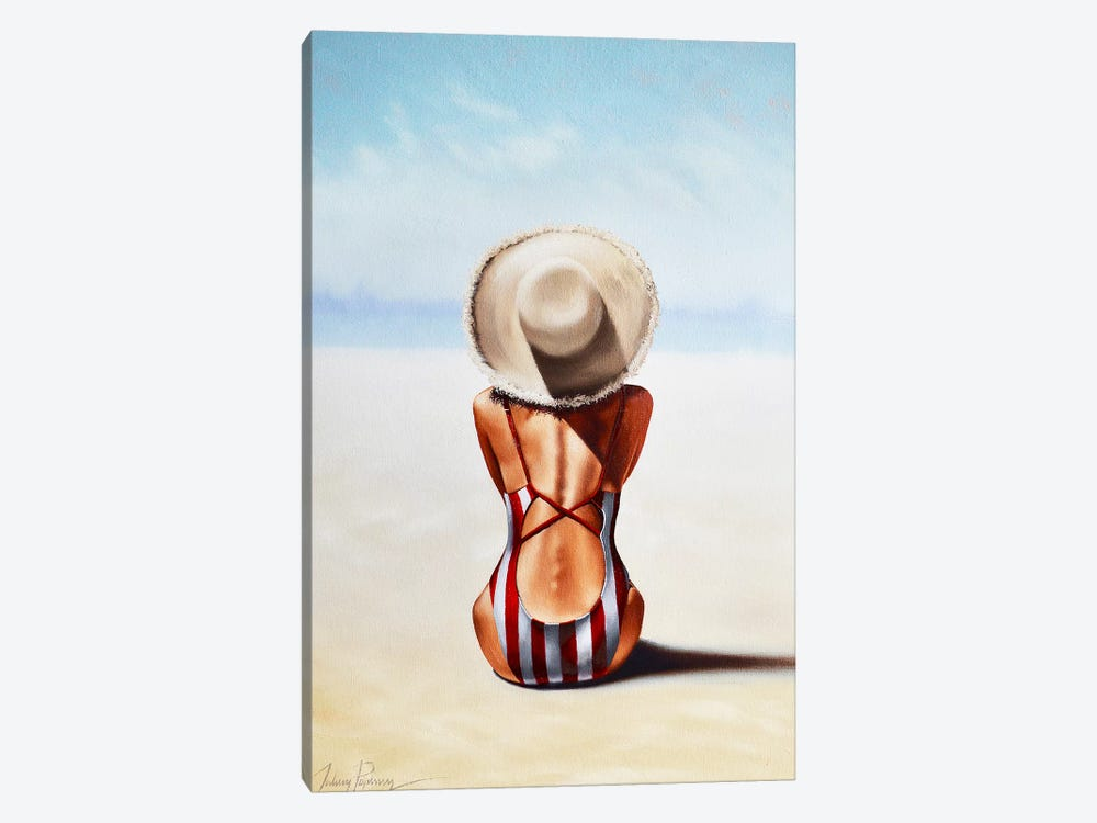 Last Day of Summer by Johnny Popkess 1-piece Canvas Print