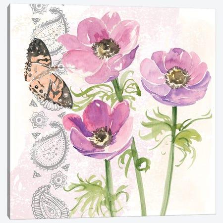 Flowers & Lace I Canvas Print #JPP115} by Jennifer Paxton Parker Art Print