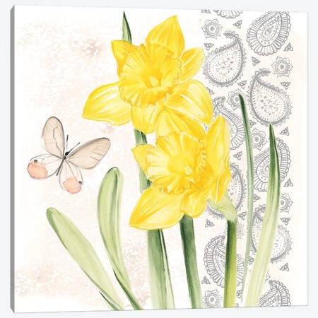 Flowers & Lace II Canvas Print #JPP116} by Jennifer Paxton Parker Canvas Art Print