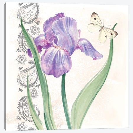 Flowers & Lace III Canvas Print #JPP117} by Jennifer Paxton Parker Canvas Print