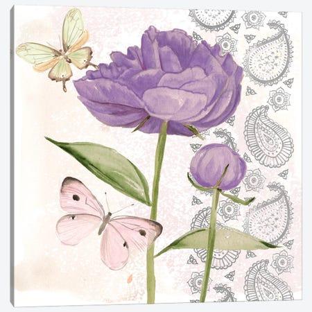Flowers & Lace IV Canvas Print #JPP118} by Jennifer Paxton Parker Canvas Art