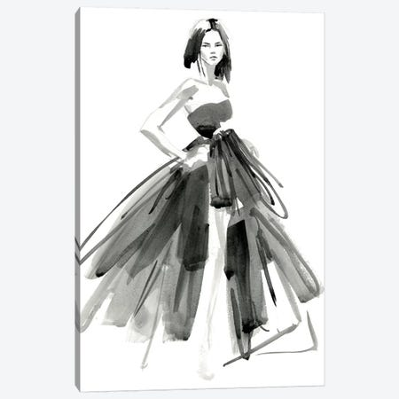 Gestural Evening Gown I Canvas Print #JPP123} by Jennifer Paxton Parker Canvas Art Print
