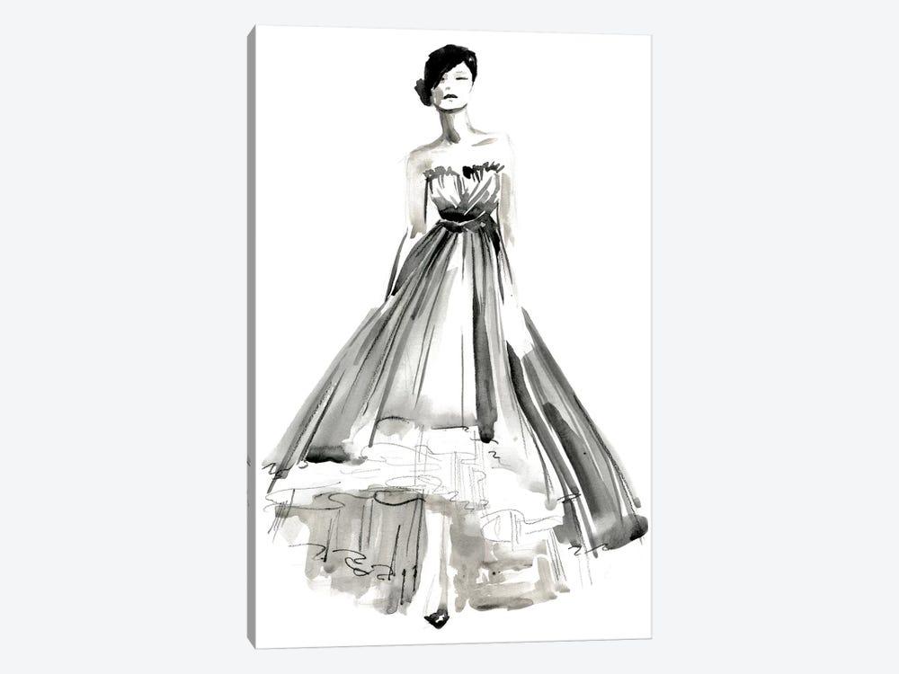 Gestural Evening Gown II by Jennifer Paxton Parker 1-piece Art Print