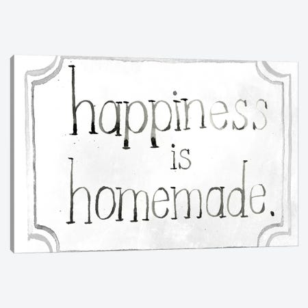 Homemade Happy I Canvas Print #JPP125} by Jennifer Paxton Parker Canvas Art
