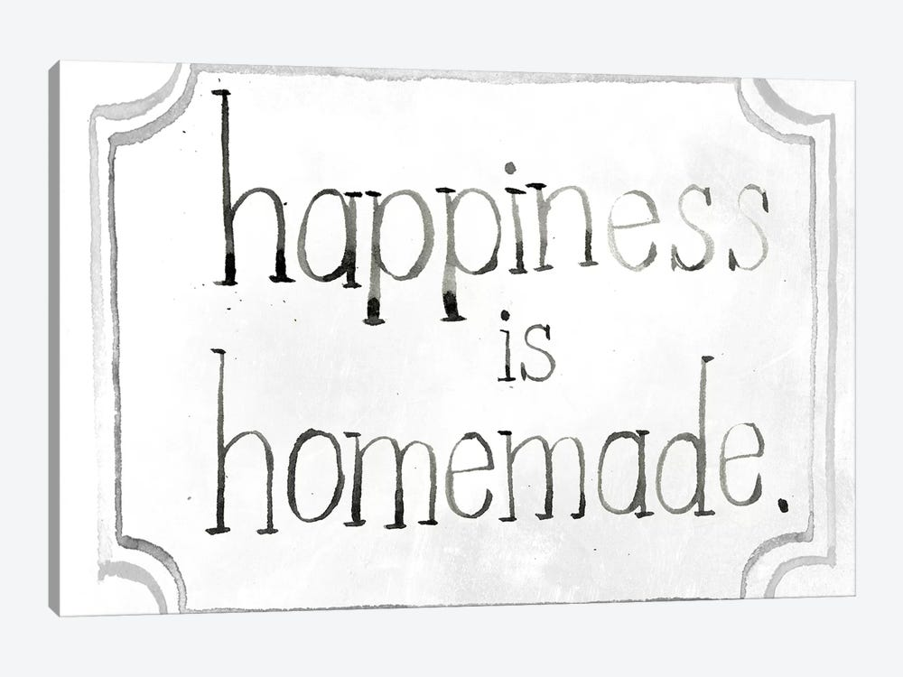 Homemade Happy I by Jennifer Paxton Parker 1-piece Canvas Wall Art
